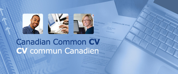 Canadian Common CV | Le CV commun Canadien
